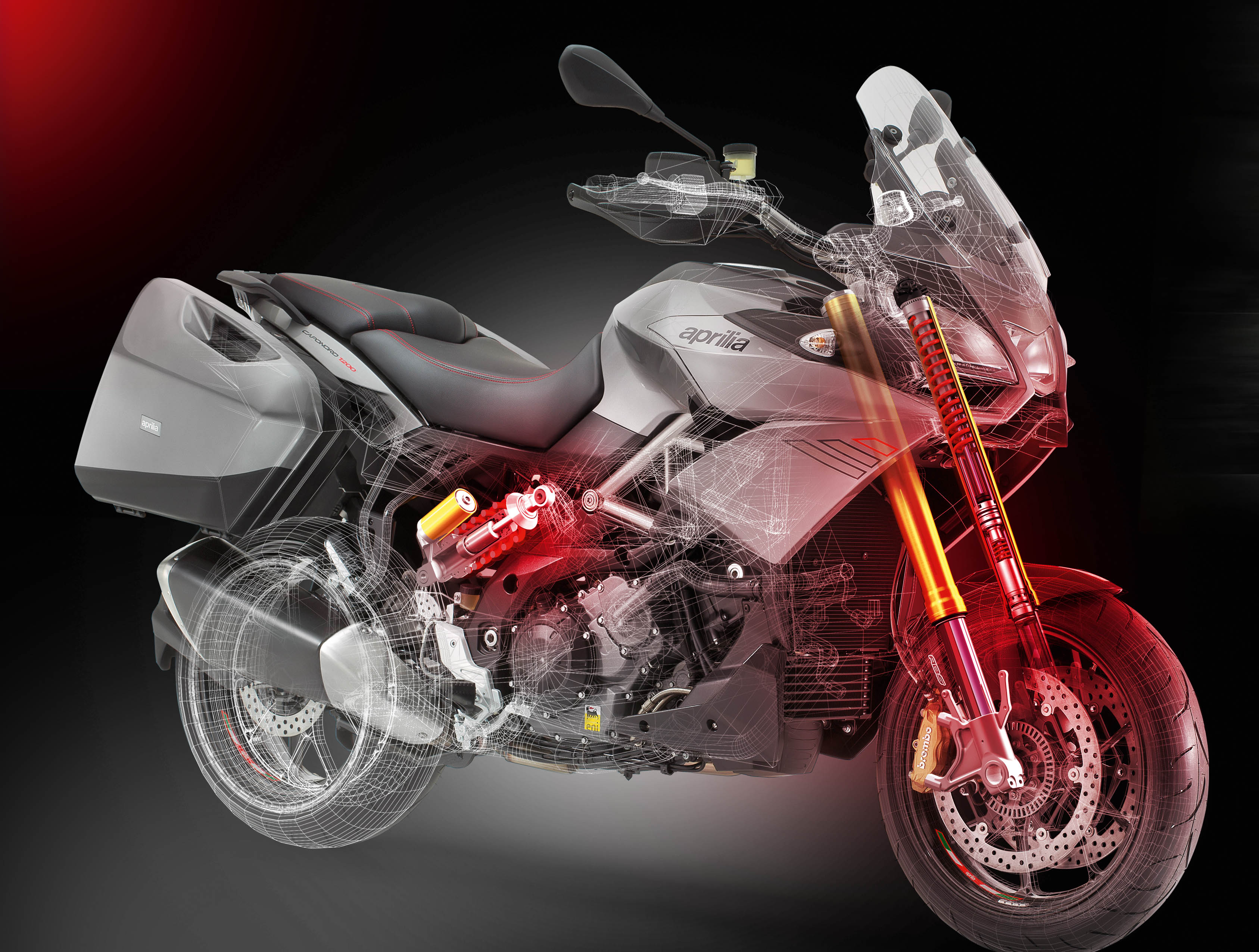 Aprilia Caponord1200 Travel Pack_grey technology