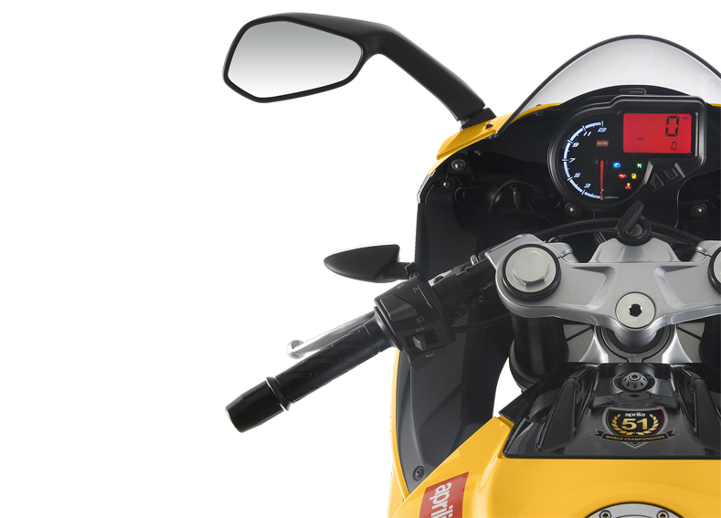 Aprilia RS4 50 yellow infographics