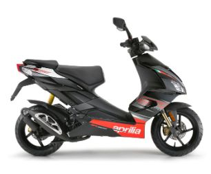 Aprilia SR 50 Factory gallery black