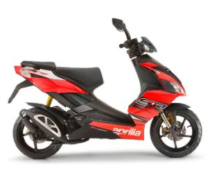 Aprilia SR 50 Factory gallery red