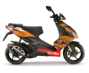 Aprilia SR 50 Factory gallery orange