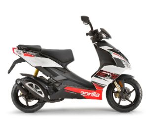 Aprilia SR 50 Factory gallery white